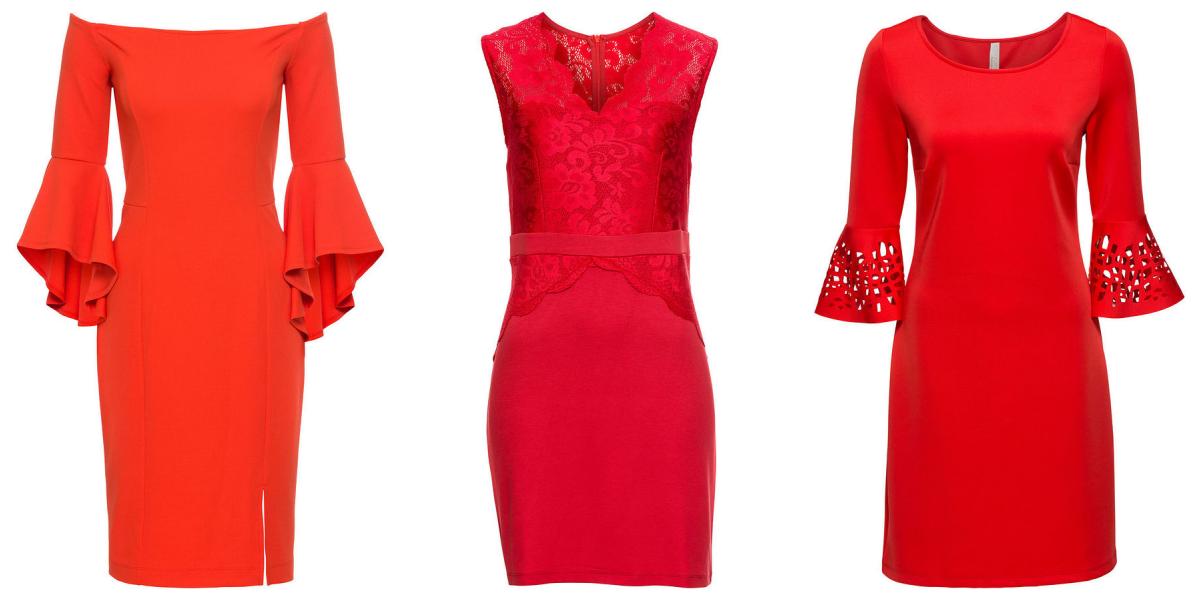 4aa280ecd7 Czerwone sukienki na wesele