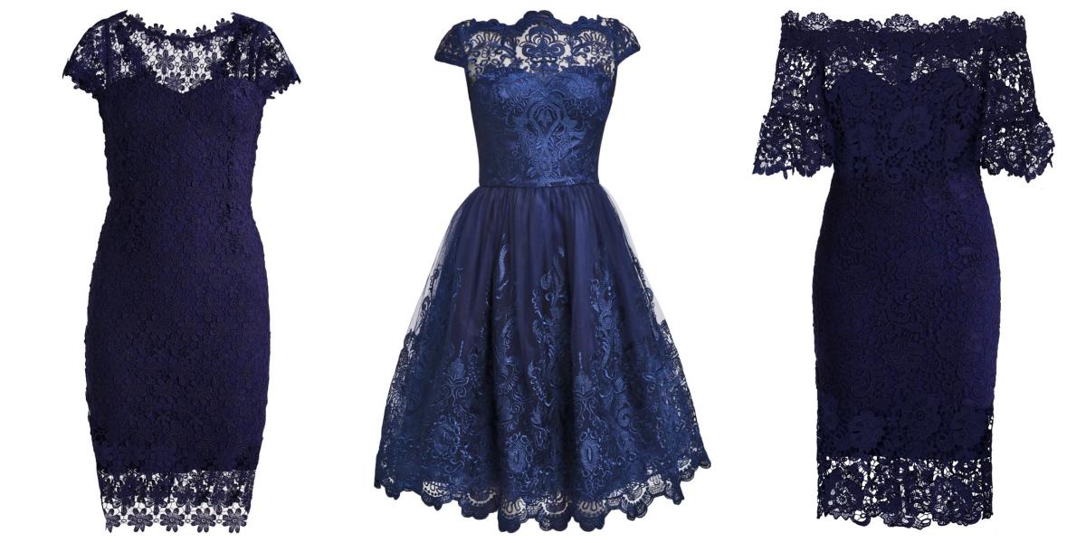 41c8102420 Ciemne sukienki na wesele