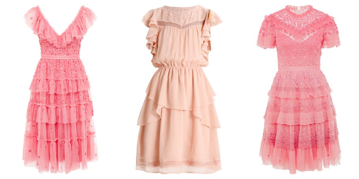 ab93631dfc Pastelowe sukienki na wesele