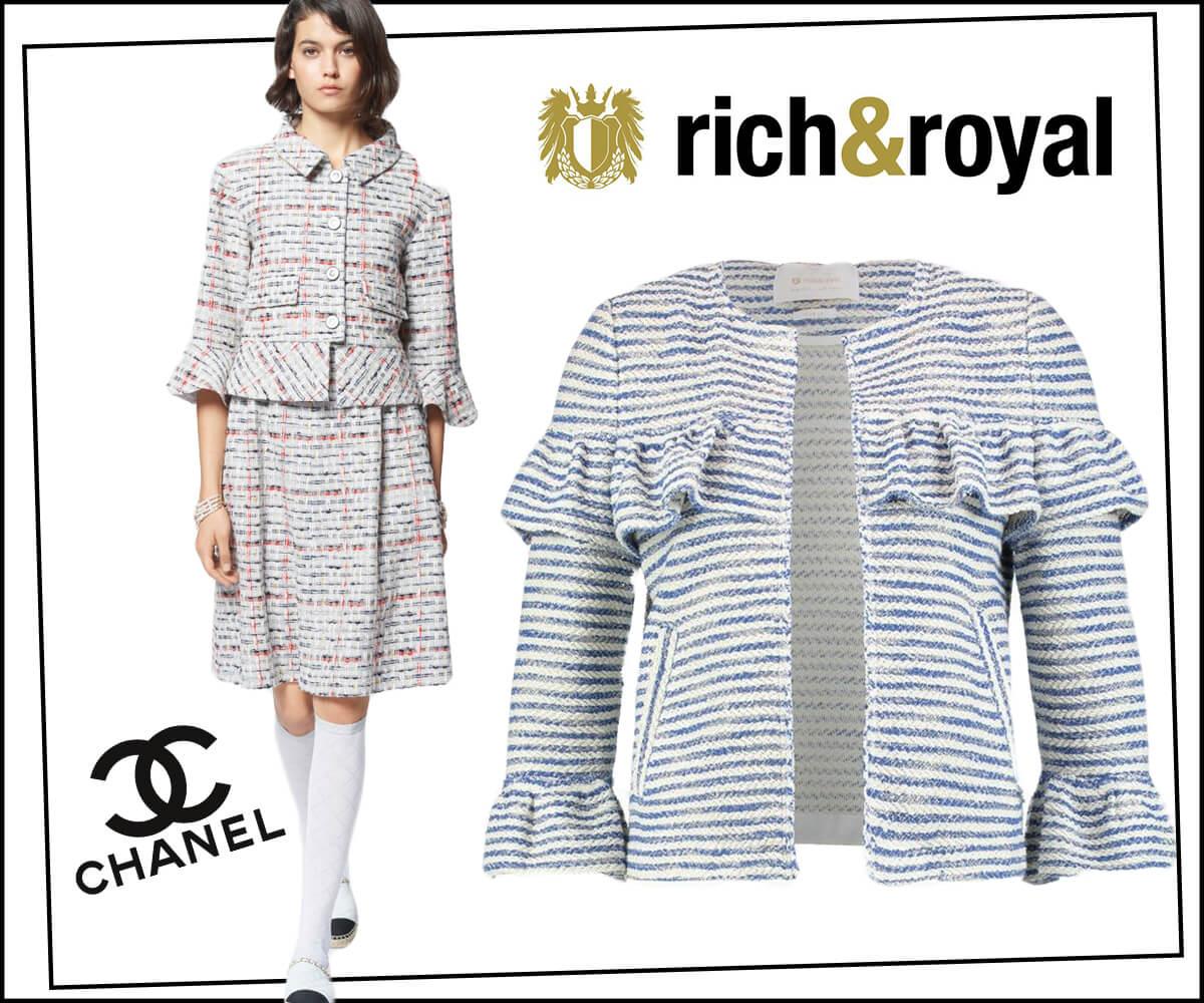 52e5db7f5100a W każdym sezonie dom mody proponuje coraz to nowe wariacje na jego temat i  rokrocznie nowe modele w stylu zapoczątkowanym przez wytworną Gabrielle  Chanel ...