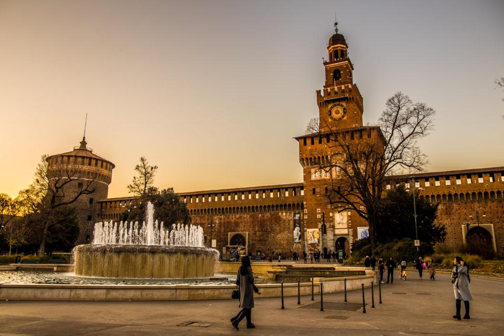 Zamek Sforzów Mediolan