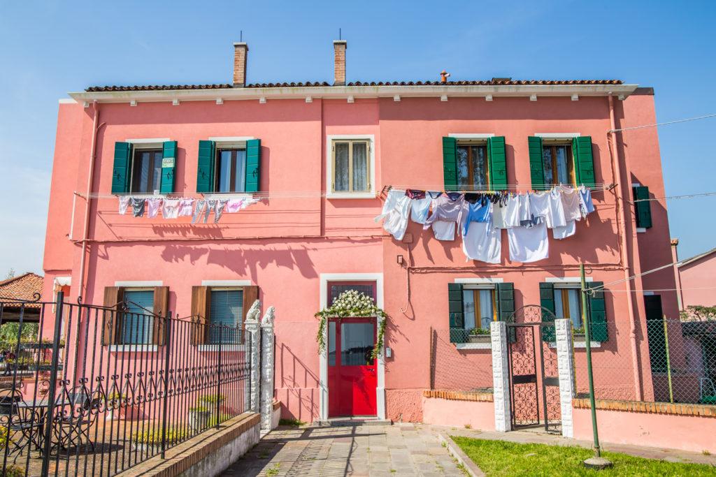 pastelowy dom