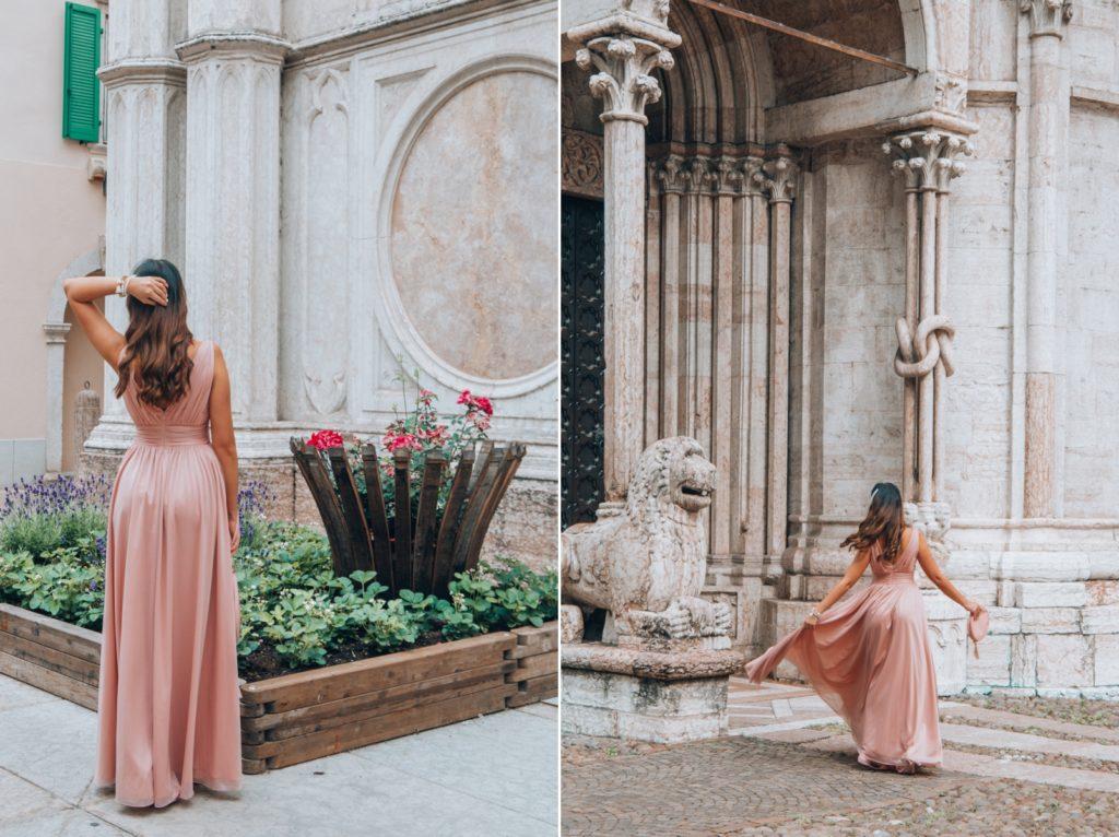 beżowa sukienka do ziemi