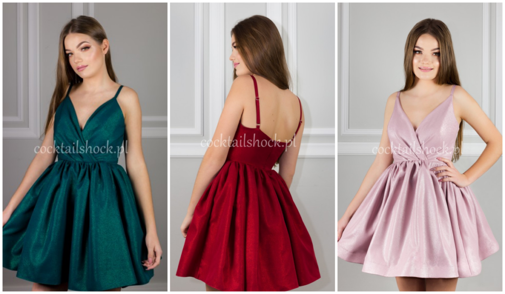 rozkloszowane sukienki dla młodszych dziewczyn