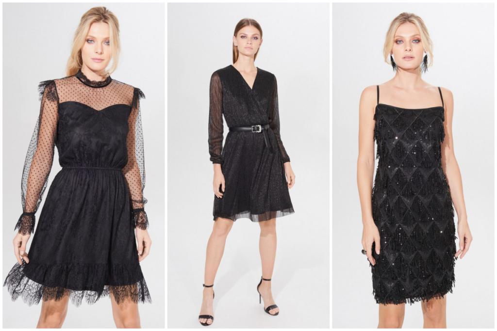 czarne sukienki klasyczne