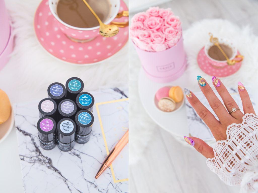 kryształowy manicure
