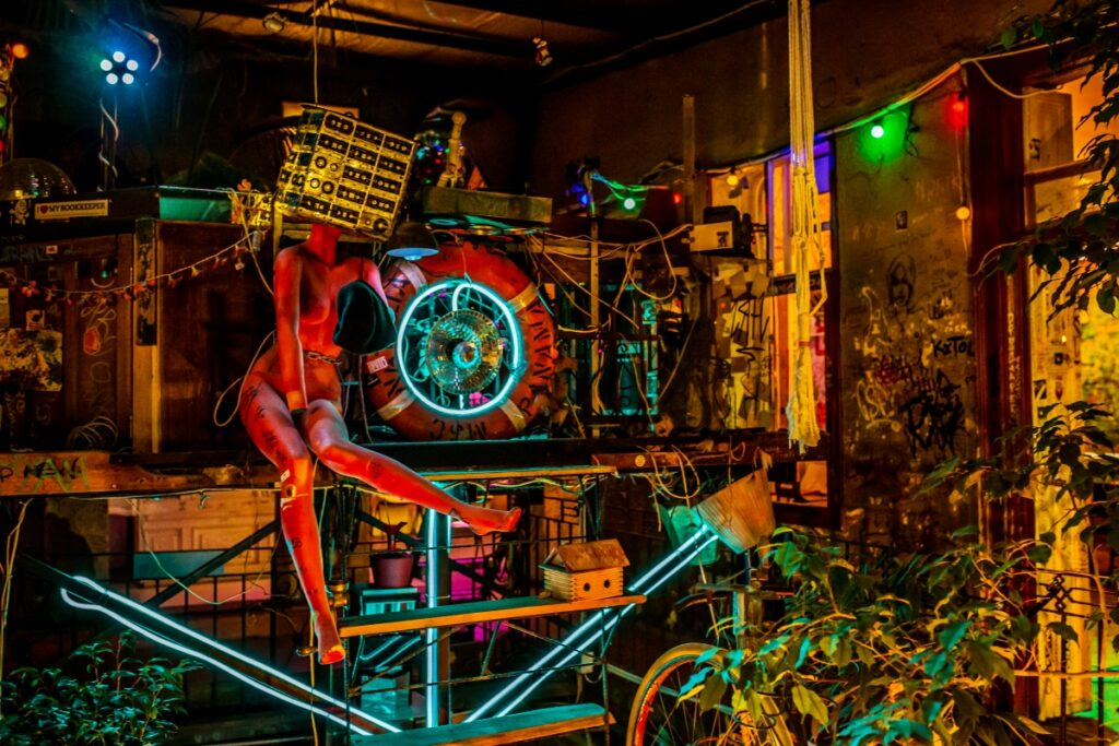 dziwny bar w Budapeszcie