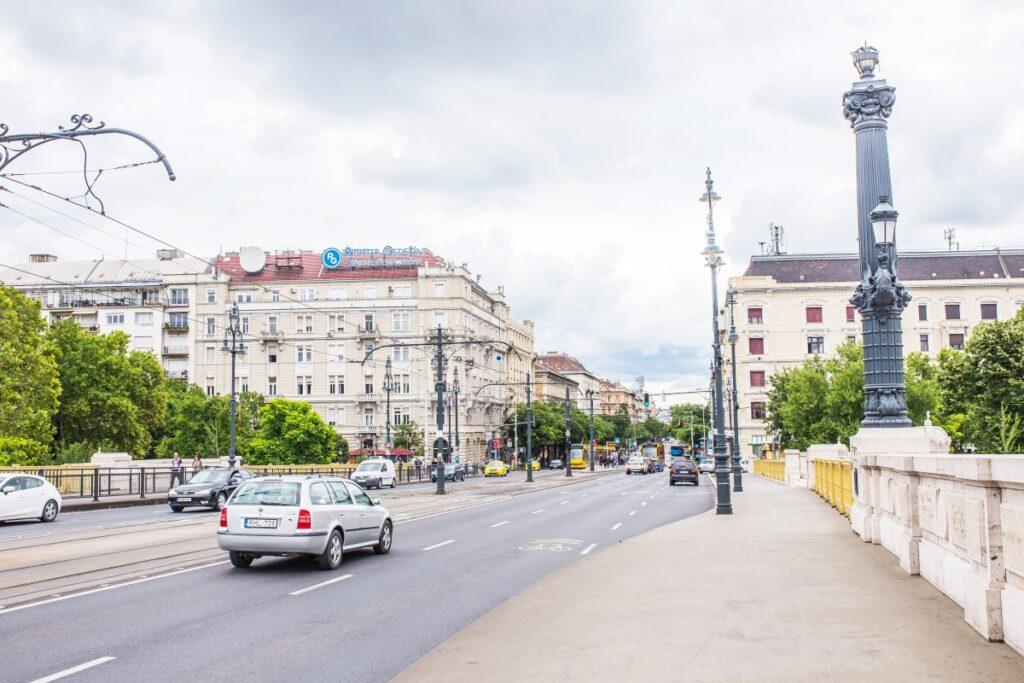 parkingi w Budapeszcie