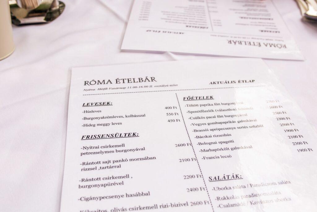 gdzie zjeść w Budapeszcie