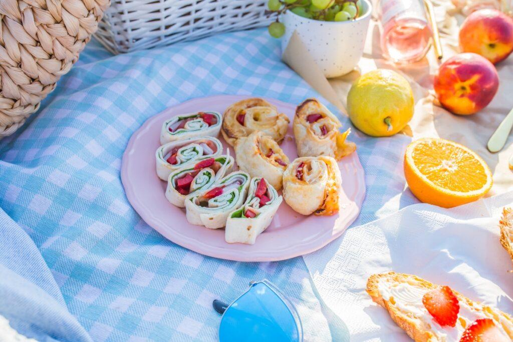 przekąski na piknik