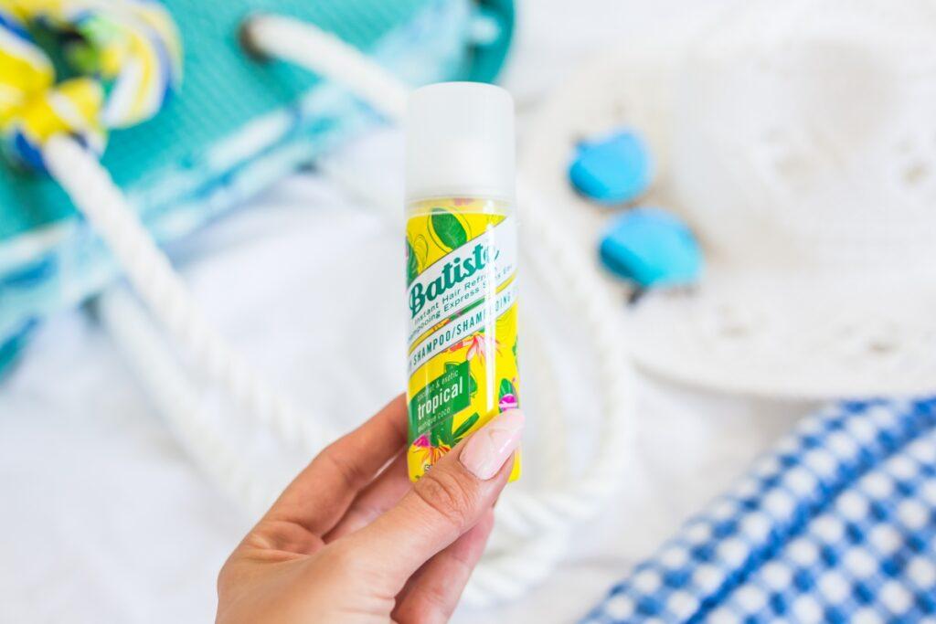 suchy szampon małe opakowanie