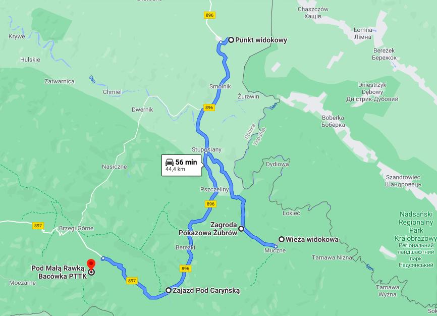 1-dniowa wycieczka w Bieszczady