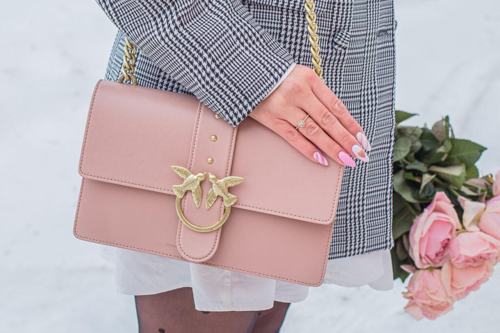 torebka Pinko różowa